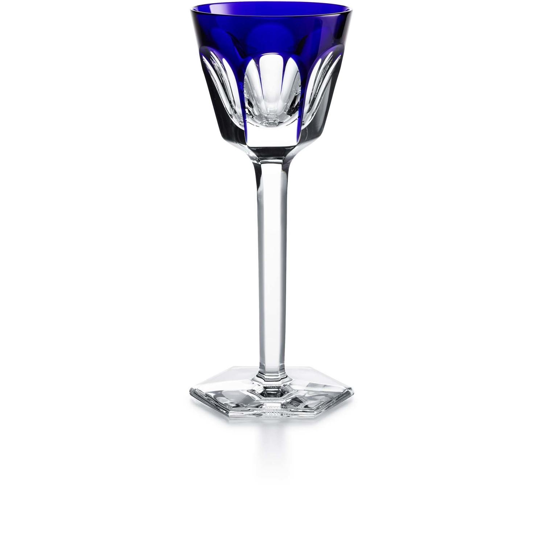 verre baccarat harcourt verre bleu 1201132. Black Bedroom Furniture Sets. Home Design Ideas