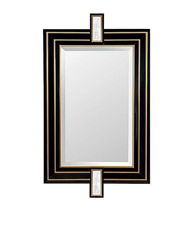 miroir lalique tianlong 75115001. Black Bedroom Furniture Sets. Home Design Ideas