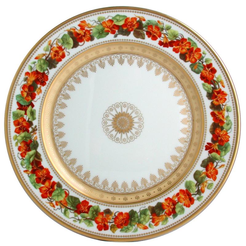 vaisselle bernardaud assiette botanique l608 6841. Black Bedroom Furniture Sets. Home Design Ideas