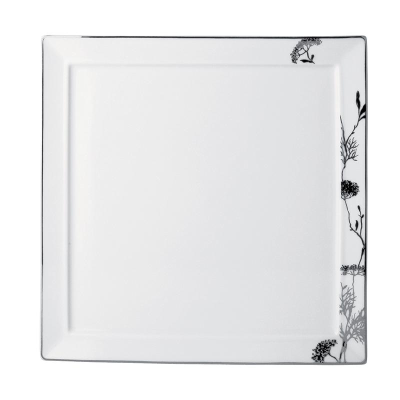 vaisselle bernardaud assiette carree promenade 2348 5277. Black Bedroom Furniture Sets. Home Design Ideas