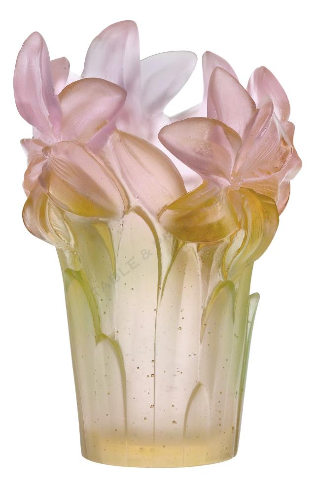 Vase daum amaryllis 05214 1 for Vase amaryllis