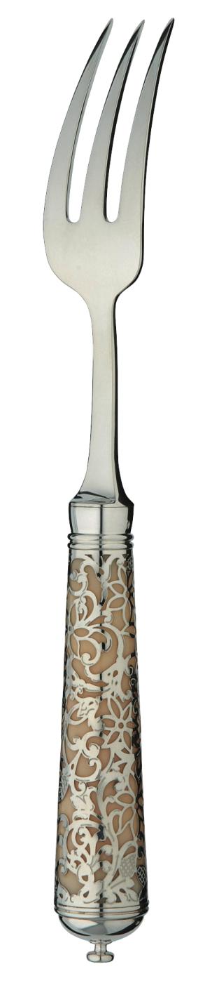 couverts ercuis argent massif insolent argent massif ivoire fourchette de table 692502. Black Bedroom Furniture Sets. Home Design Ideas