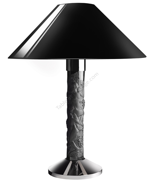 abat jour lalique faunes 10059600. Black Bedroom Furniture Sets. Home Design Ideas