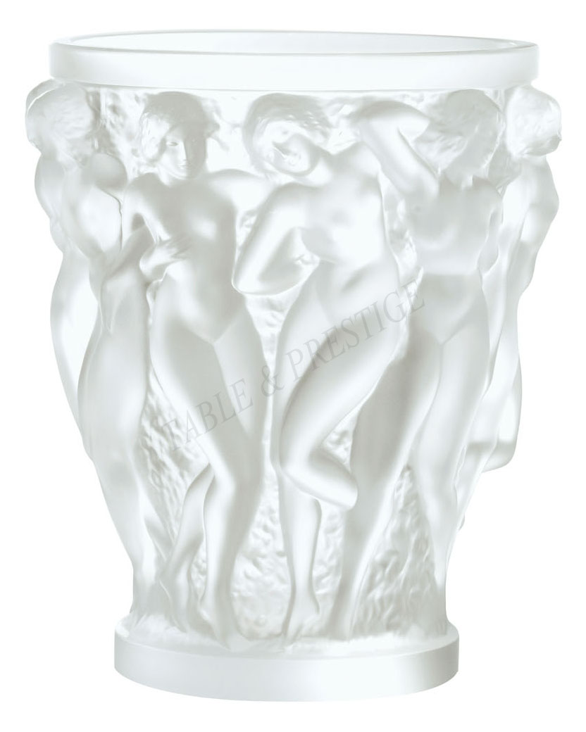 Vase lalique bacchantes 1220000 for Lalique vase