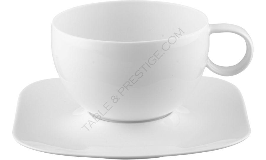 tasse sous tasse d jeuner free spirit weiss rosenthal shop studio line 19750 800001 14850. Black Bedroom Furniture Sets. Home Design Ideas