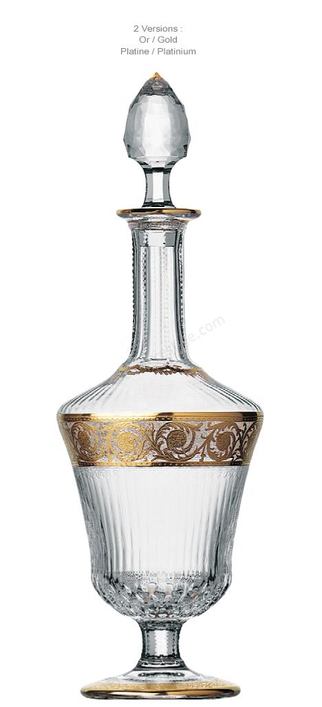 carafe saint louis thistle carafe a vin 32203000. Black Bedroom Furniture Sets. Home Design Ideas