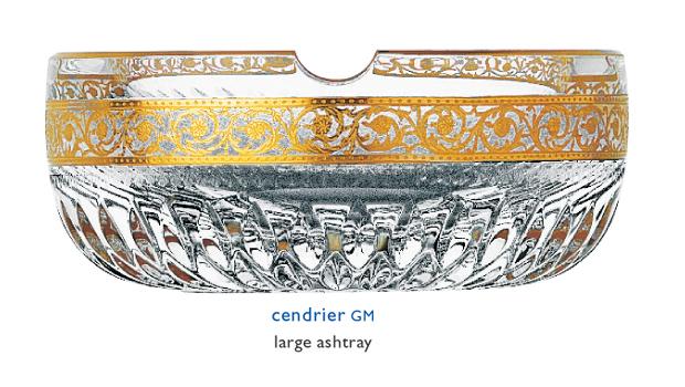 cendriers saint louis thistle 32243100. Black Bedroom Furniture Sets. Home Design Ideas