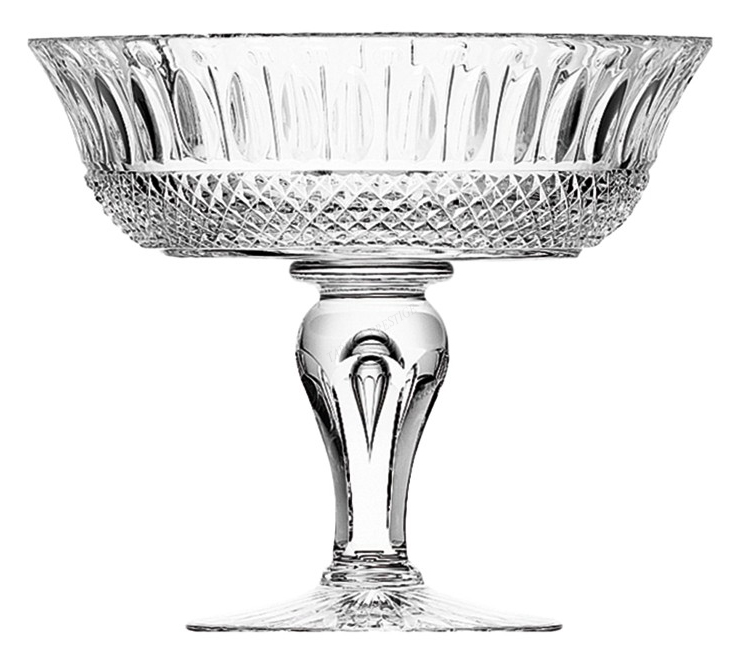 Coupe saint louis tommy 12412500 - Centre de table coupe en verre ...