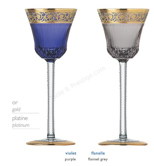 verre saint louis thistle verre couleur 32202030. Black Bedroom Furniture Sets. Home Design Ideas