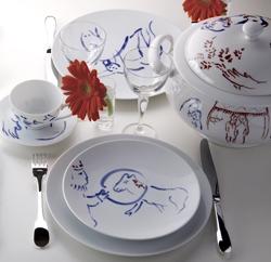vaisselle bernardaud service vaisselle pour ida 2280 6303. Black Bedroom Furniture Sets. Home Design Ideas