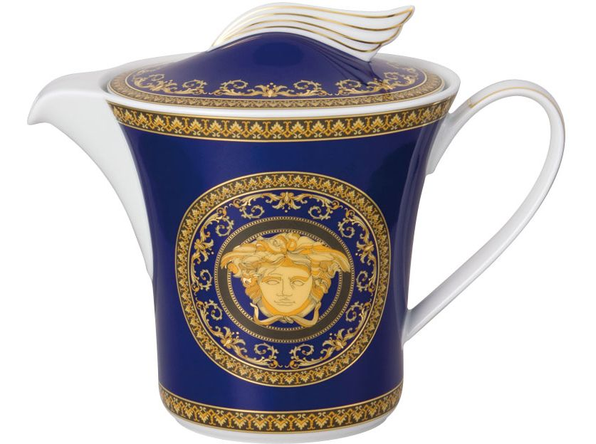 Théière versace-medusa blue Rosenthal shop versace 19325-409620-14230